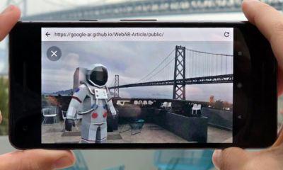 Google AR im Browser