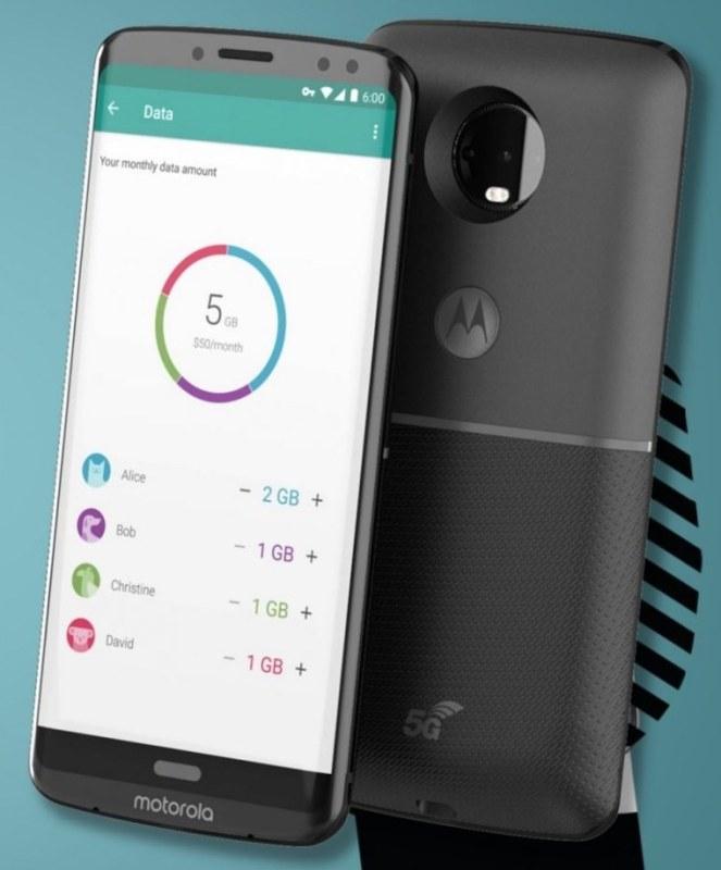 Moto Z3 Leak mit 5G mod