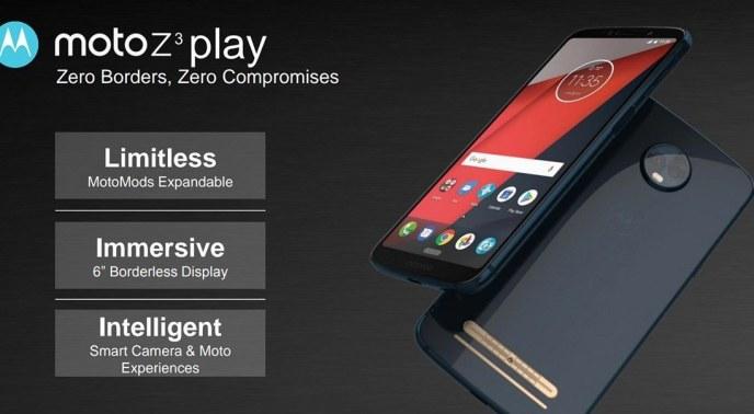 Motorola Moto Z3 Play Leak