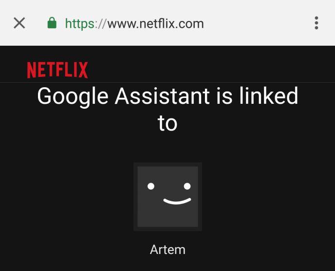 Netflix Link Google Assistant