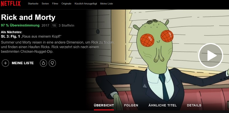 rick and morty staffel 3 stream deutsch