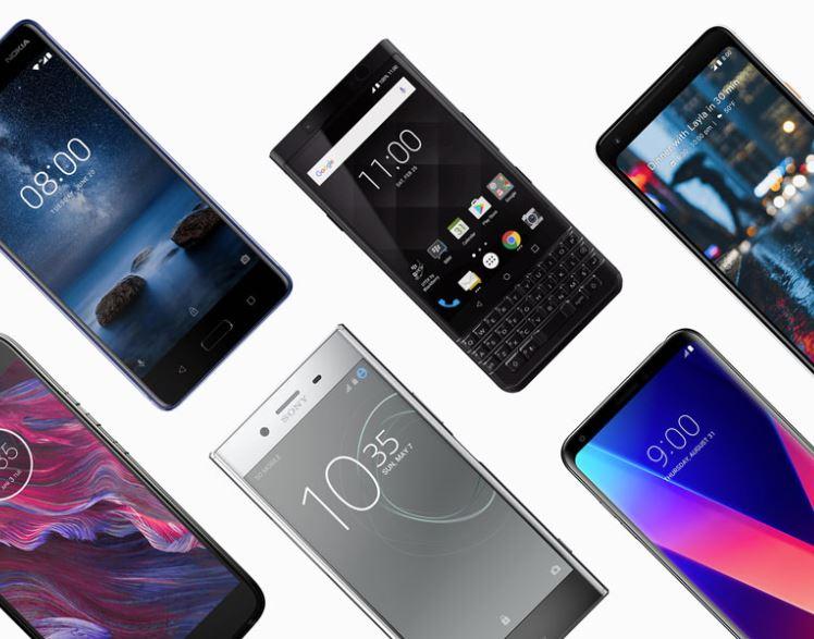 Android Smartphones Header 2018