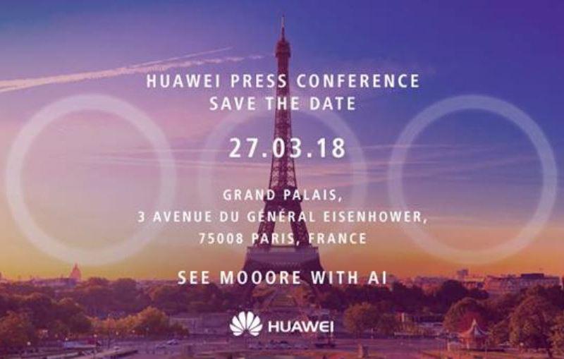 Huawei P20 Einladung Triplekamera