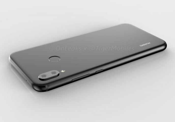 Huawei P20 lite 360 Rendering Leak