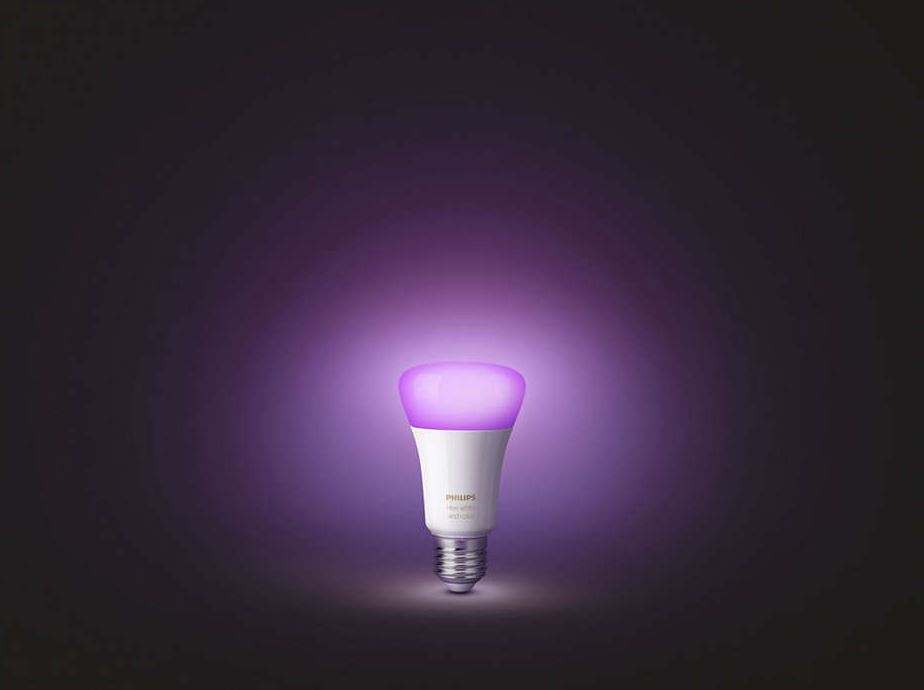Philips Hue Lampe LED Header