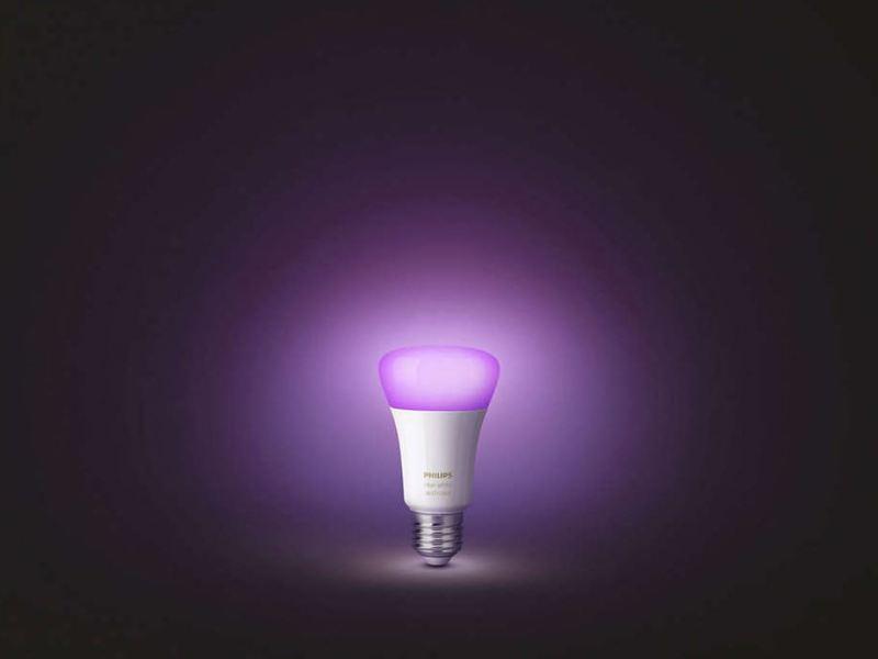 Philips Hue Lampe LED Header