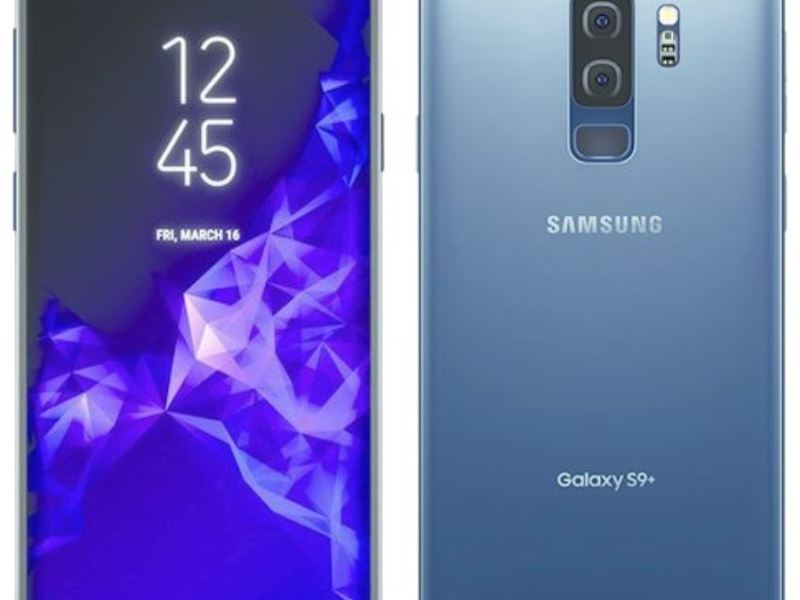 Samsung Galaxy S9 Coral Blue Leak