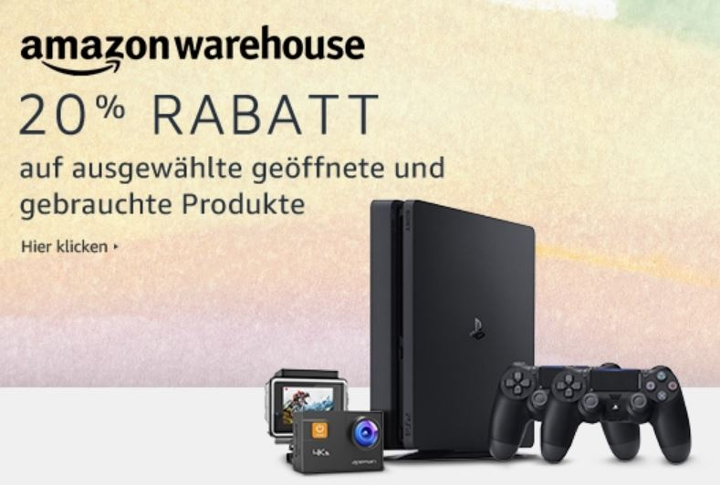Amazon Warehouse Deals Ostern 2018 20 Prozent