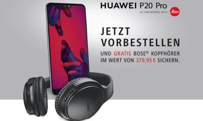 Huawei P20 Pro Kopfhörer-Aktion