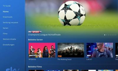 Sky Go App März 2018 Screenshot