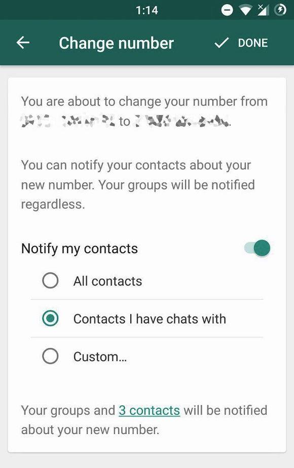 Whatsapp Kontakte Neue Nummer