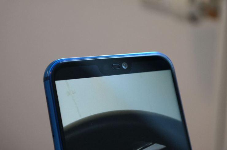Huawei P20 lite Notch Vollbild