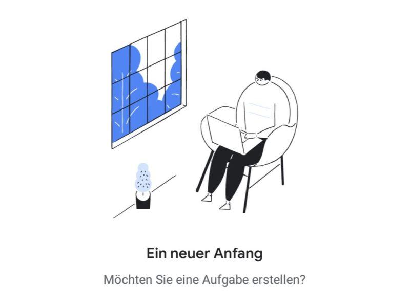 Google Tasks Header