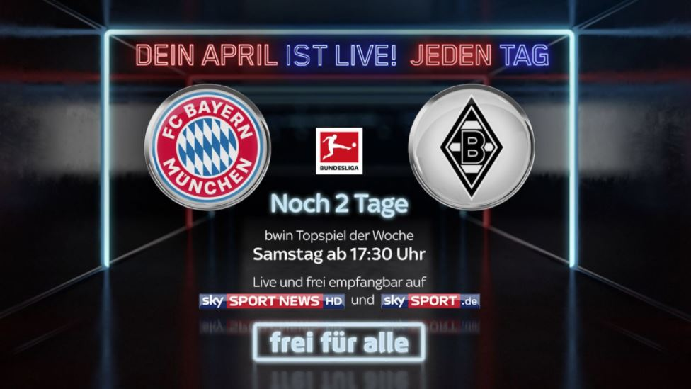 Sky Live Top-Spiel April 2018