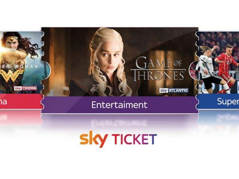 Sky Ticket Header