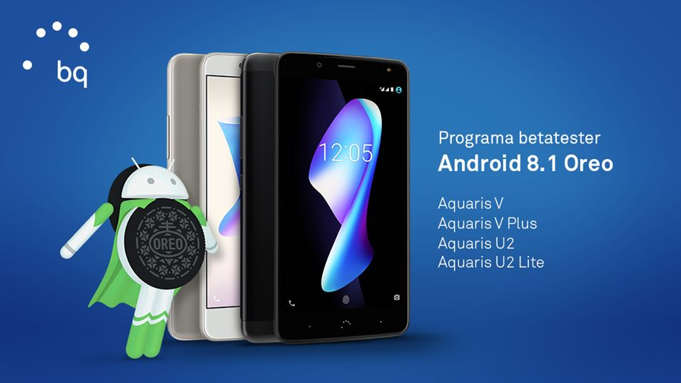 BQ Android 8.1 Beta Aquaris V V Plus U2 U2 lite