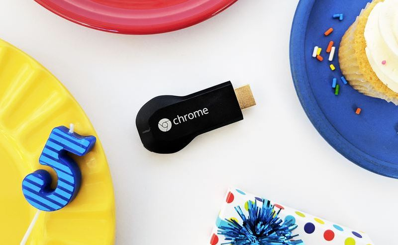 Chromecast 5 Geburtstag