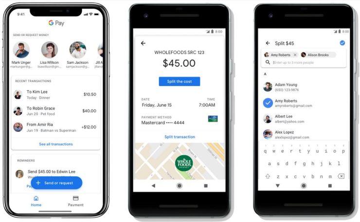 Google Pay Freunde Funktion