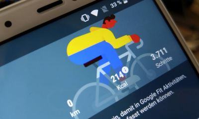 Google Fit Header