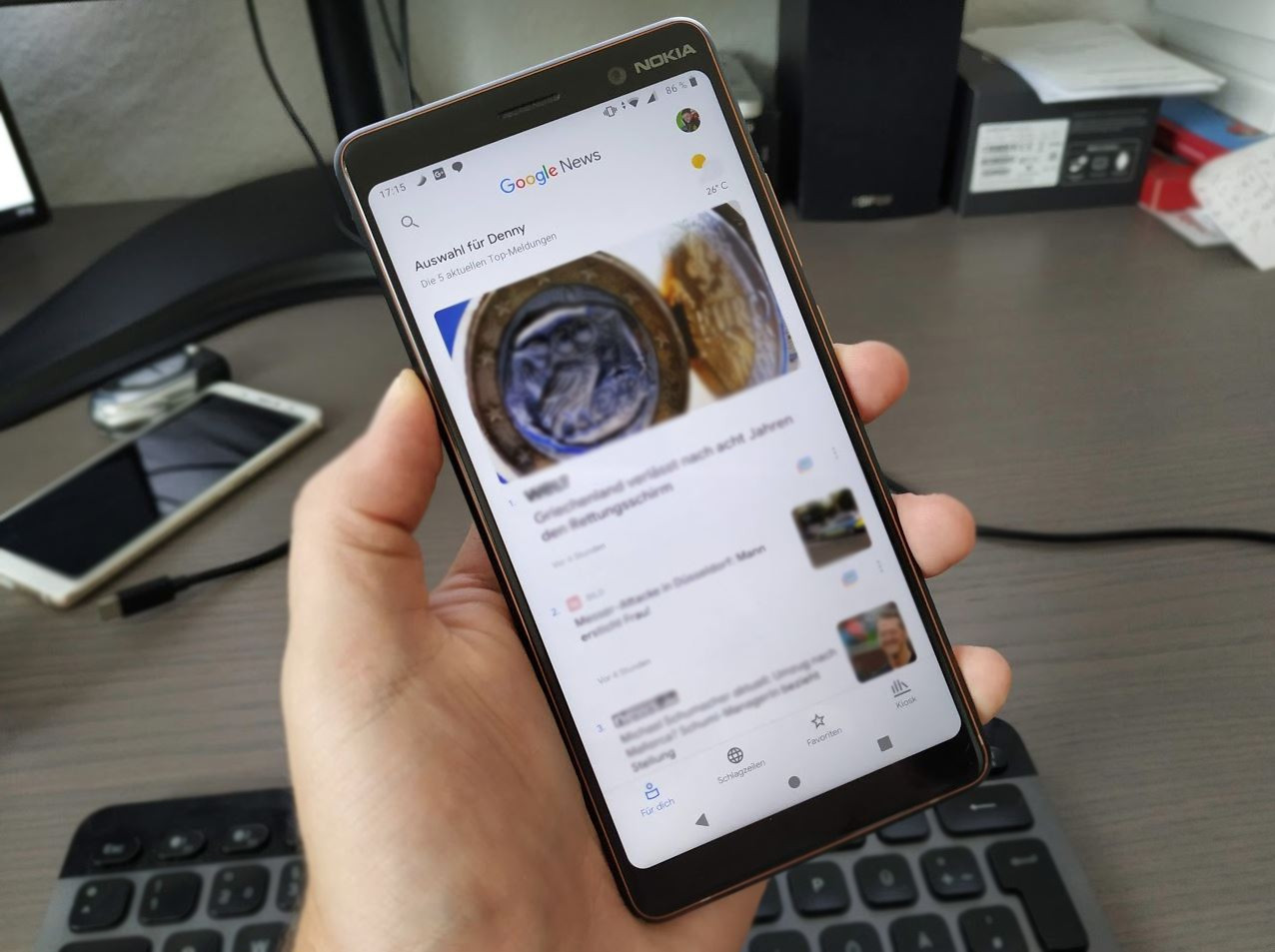 Google News als Desktop-App verwenden