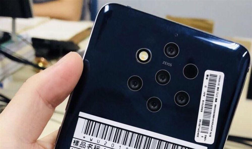 Nokia 9 Kamera-Leak
