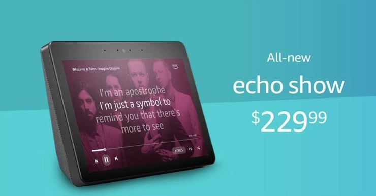Amazon Echo Show 2018
