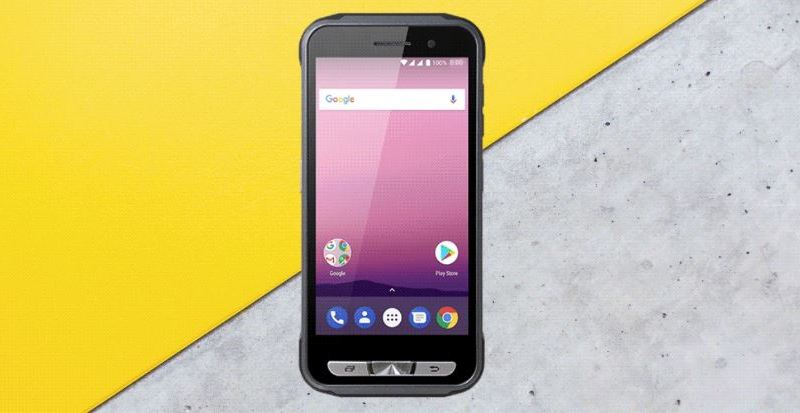 Google Outdoor Smartphone Header