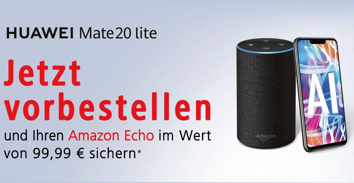 Huawei Mate 20 lite Amazon Echo