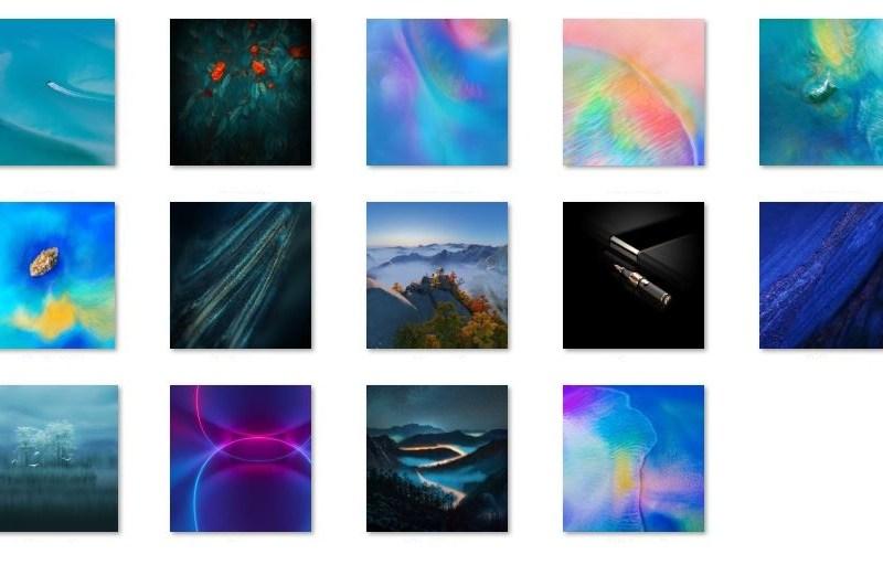 Huawei Mate 20 Wallpaper Leak Download