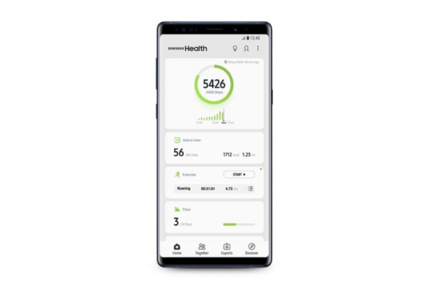Samsung Health 6.0 Update