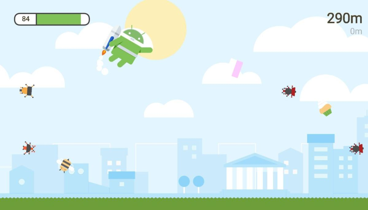 Android Bug Spiel