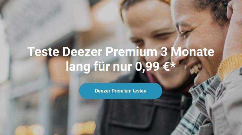 Deezer 99 Cent
