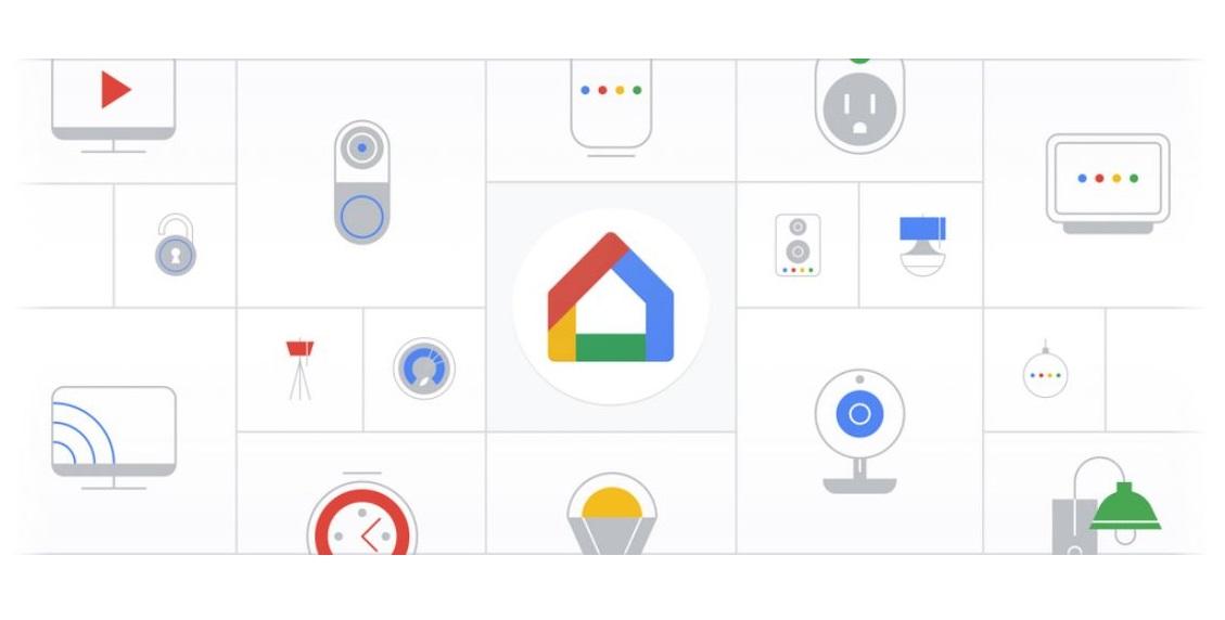 Google Home App Header