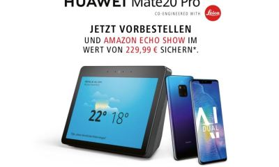 Huawei Mate 20 Pro Amazon Echo Show