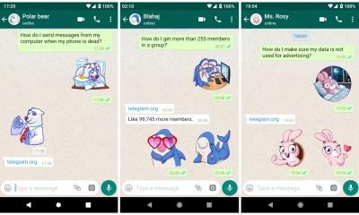 Telegram Sticker WhatsApp