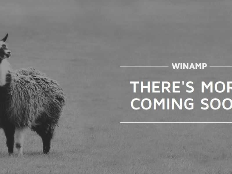 Winamp coming soon