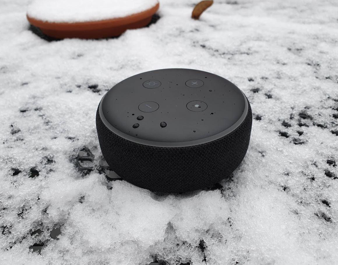 Amazon Echo Dot 3 Gen Alexa Header