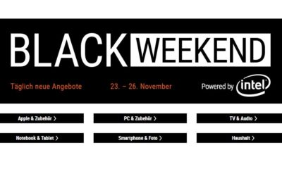 Cyberport Black Weekend November 2018