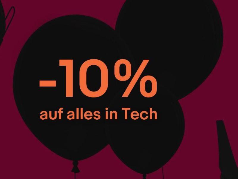 eBay 10 Prozent auf tech