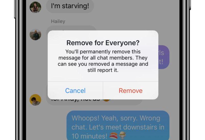 Facebook Messenger Löschfunktion Unsend (2)
