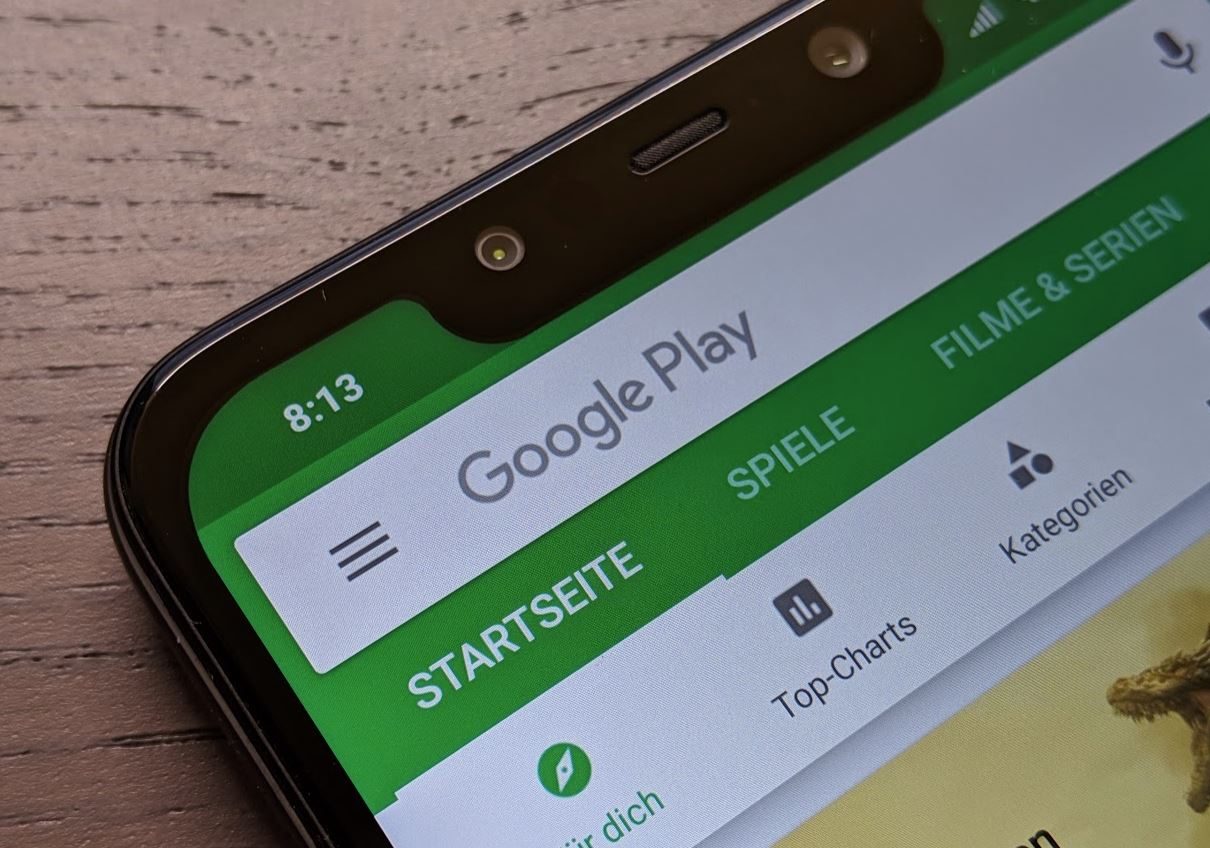 Google Play Header
