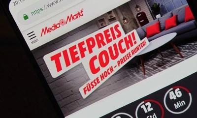MediaMarkt Tiefpreiscouch