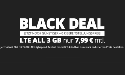 winSIM Black Deal 3 GB Allnet Flatrate