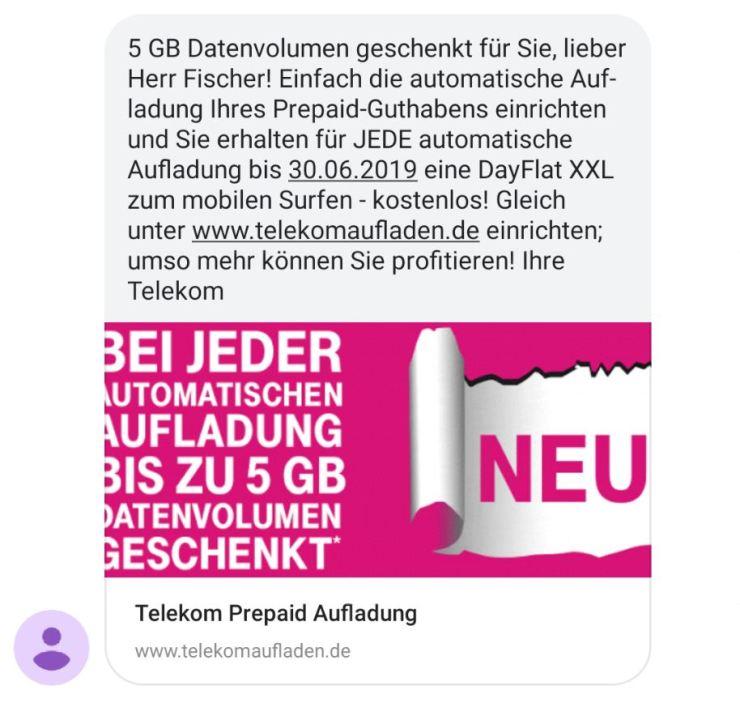 Telekom Neue Sim Karte.Telekom Verschenkt An Prepaid Kunden Bis Zu 5 Gb Datenvolumen