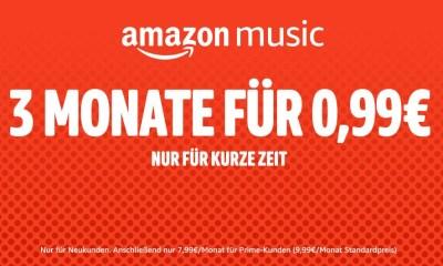 Amazon Music 3 Monate 99 Cent