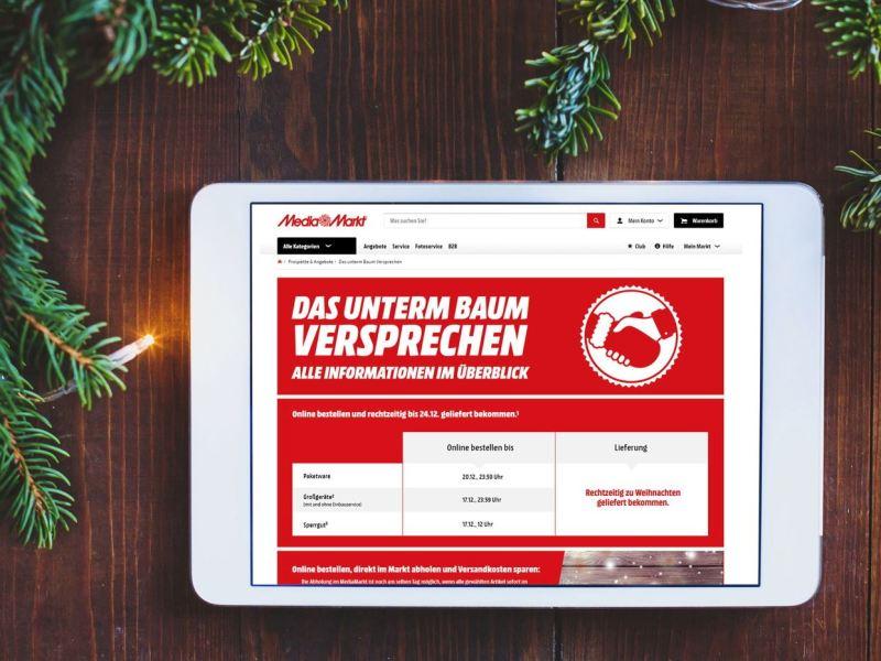 Bestellfristen MediaMarkt 2018
