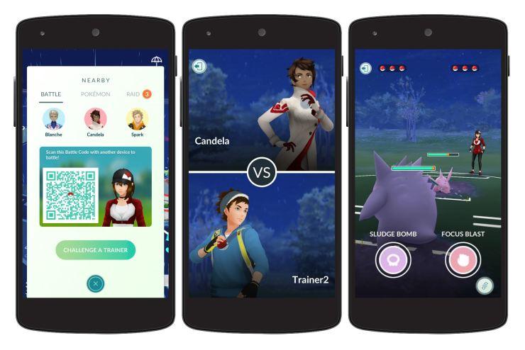 Pokemon GO Trainerkämpfe