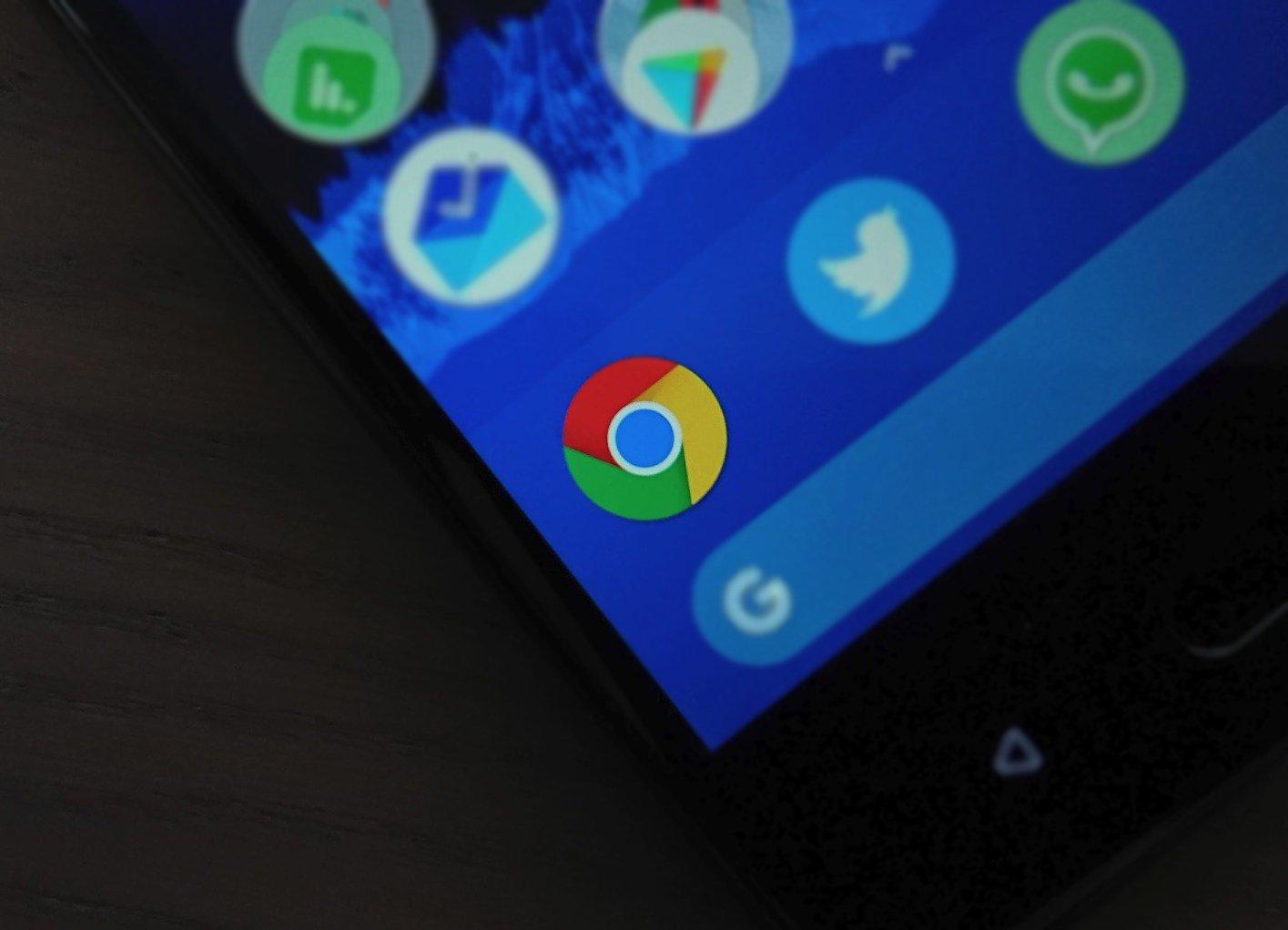 Google Chrome 78 führt dunkles Design für Android ein