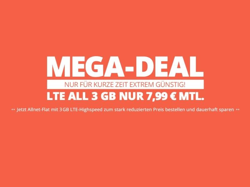 winsim 3 GB Mega deal