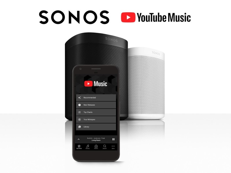 YouTube Music Sonos
